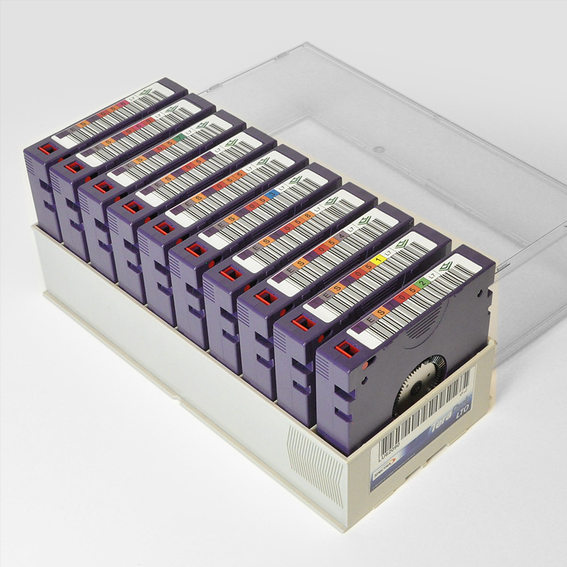 LTO-7 Tapes, 10-Pack, TeraPack, Barcode