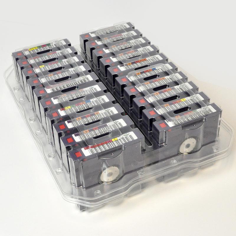 LTO-7 Tapes, 20-Pack, Custom Barcode