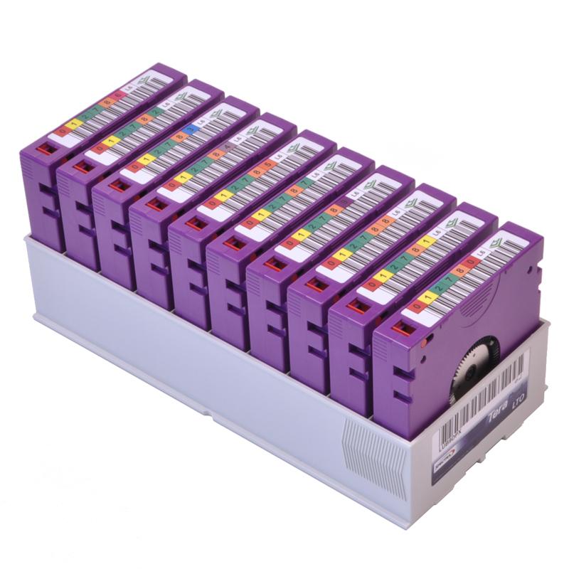 LTO-6 Tapes BaFe, 10-Pack, TeraPack, No Cover, Custom